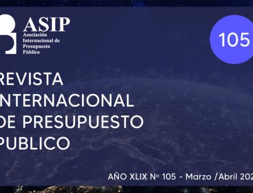 105- Revista Internacional de Presupuesto Público – ASIP