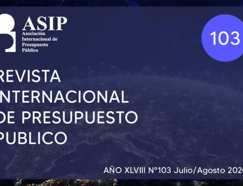 103 – Revista Internacional de Presupuesto Público – ASIP