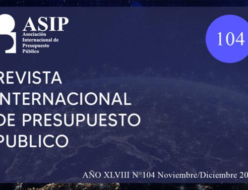 104- Revista Internacional de Presupuesto Público – ASIP
